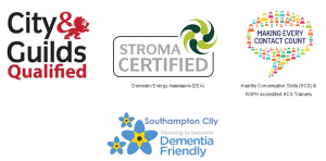 City & Guilds, Stroma, Making Every Contact Count and Dementia Friends Qualifications